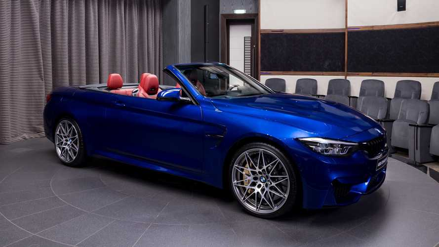 Este BMW M4 Cabrio, lleno de extras, es realmente apetecible