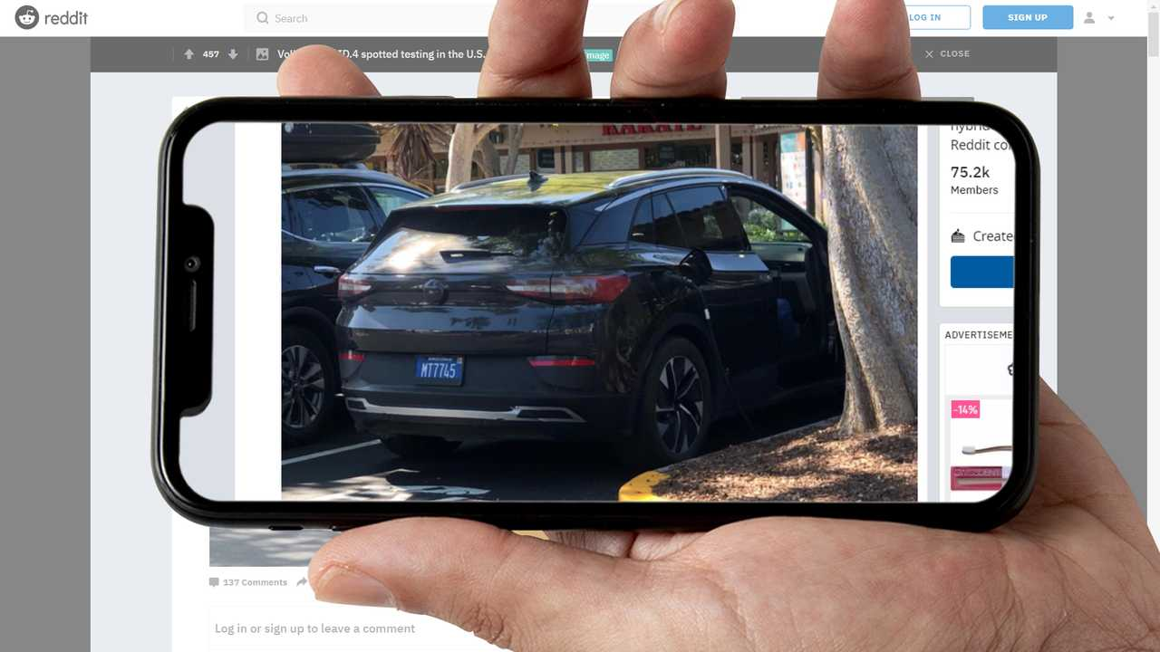 VW ID.4 Testing With Arizona License Plates Shows It Is Getting Closer