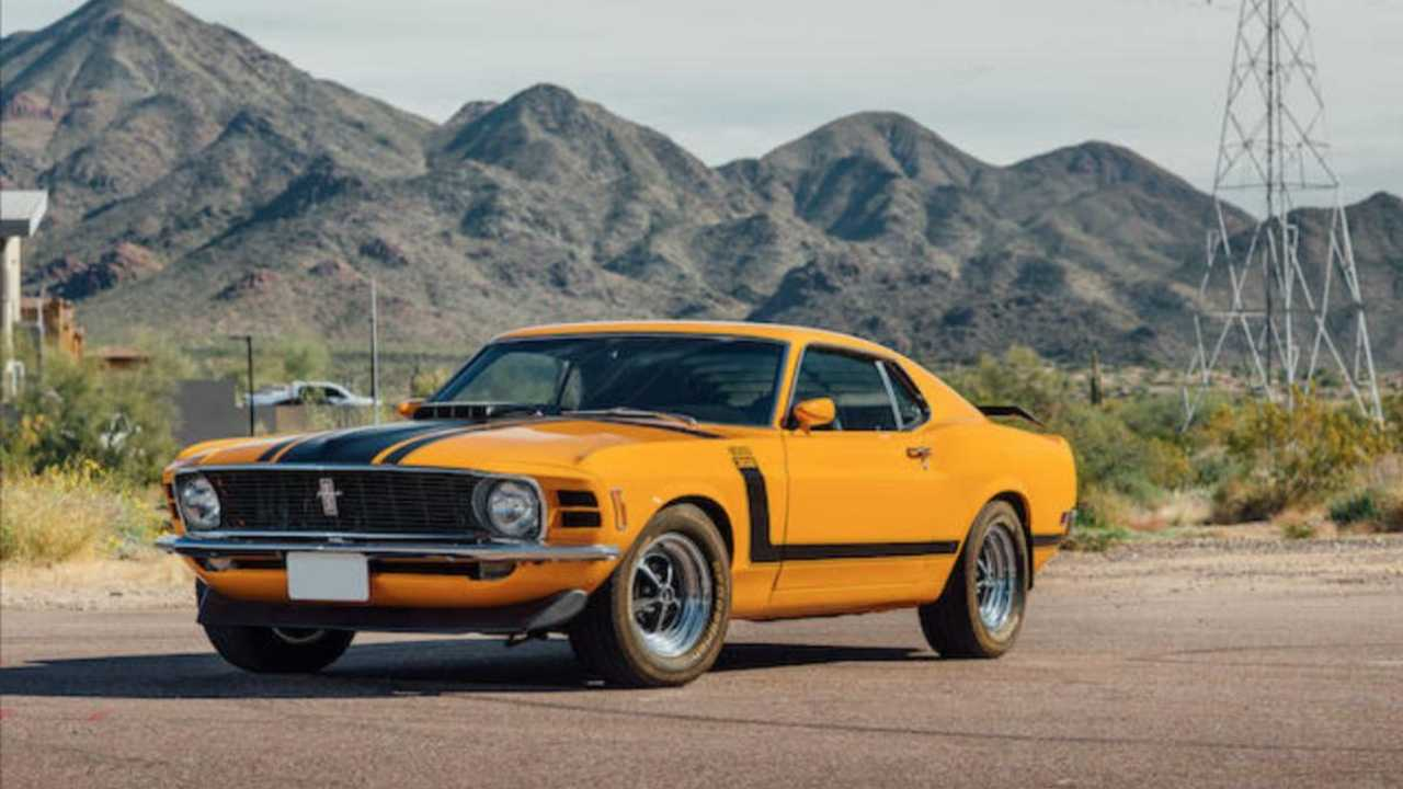Restored 1970 Ford Mustang Boss 302 Fastback is looking fine