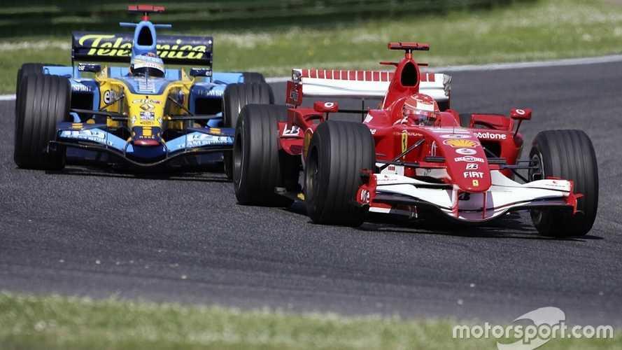 Quand Schumacher dépassait Senna et tenait Alonso en respect