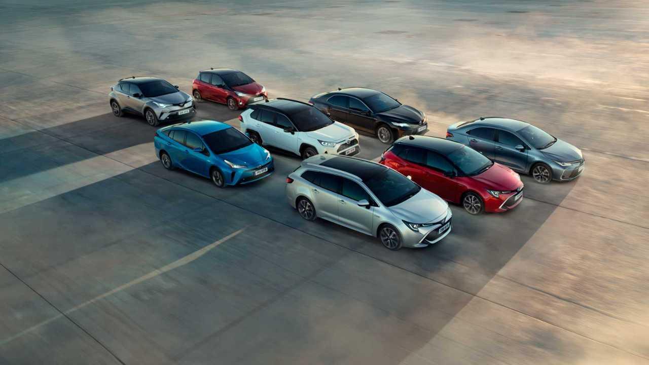 гибриды Toyota
