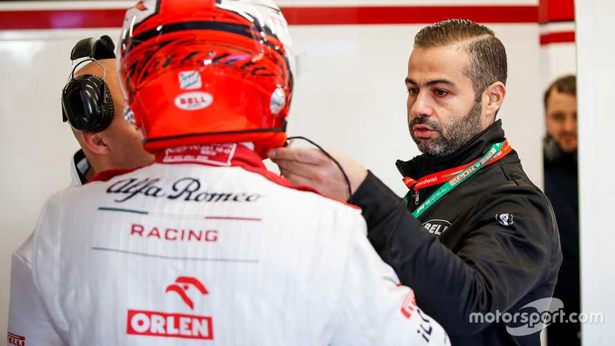 My job in Formula 1: The helmet manager