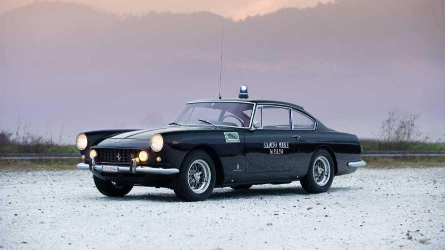 Последний выживший: с молотка уйдет редкая полицейская Ferrari