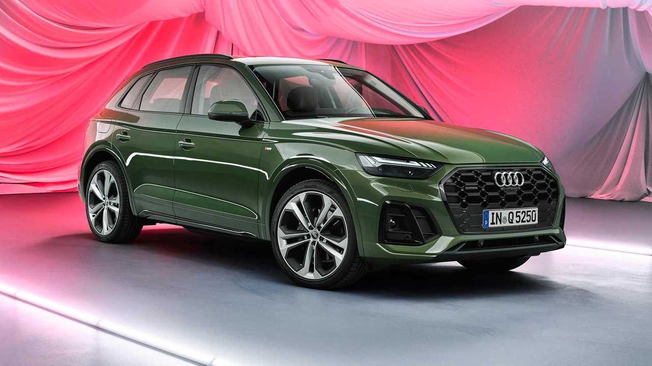 Обновленная Audi Q5 (2020)