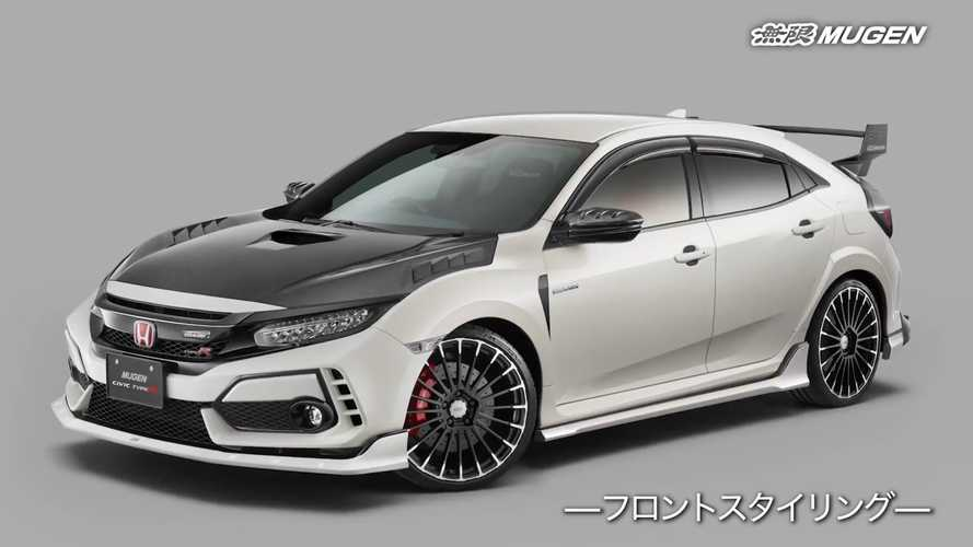 Honda Civic Type R Gets Assortment Of Mugen Aftermarket Parts