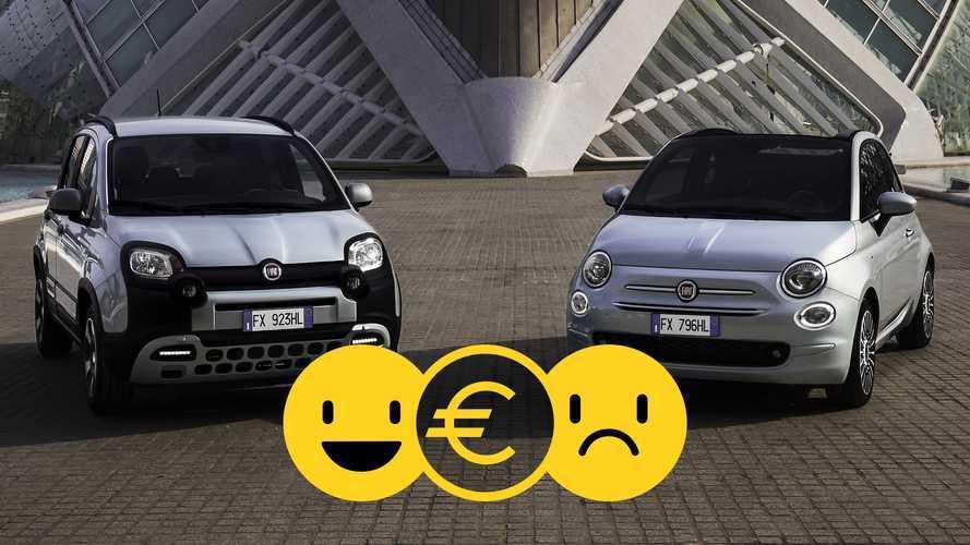 Promozione Fiat 500 e Panda Hybrid, perché conviene e perché no
