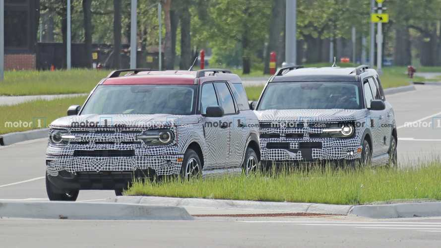 Ford Bronco Sport New Spy Photos