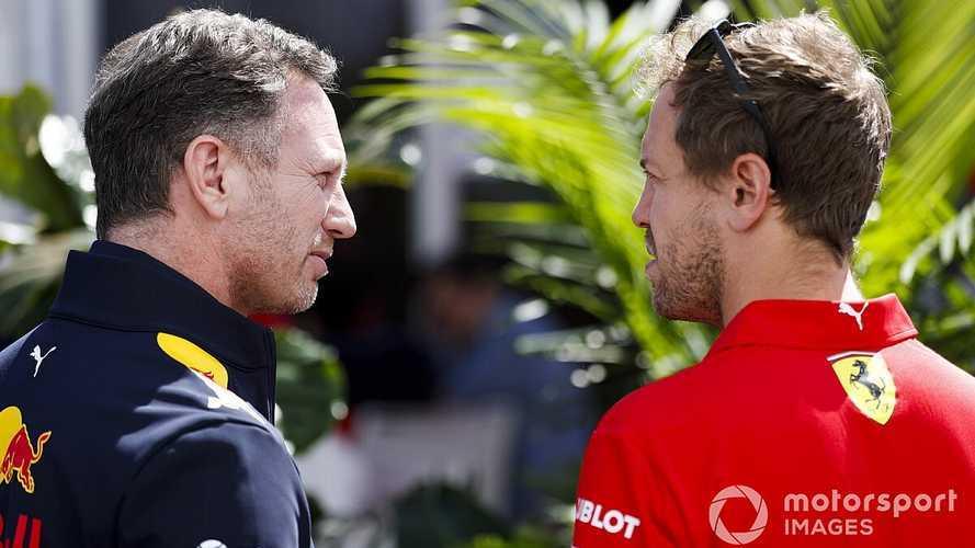"""Red Bull sobre Vettel: """"Dos machos alfa no funcionan bien"""""""