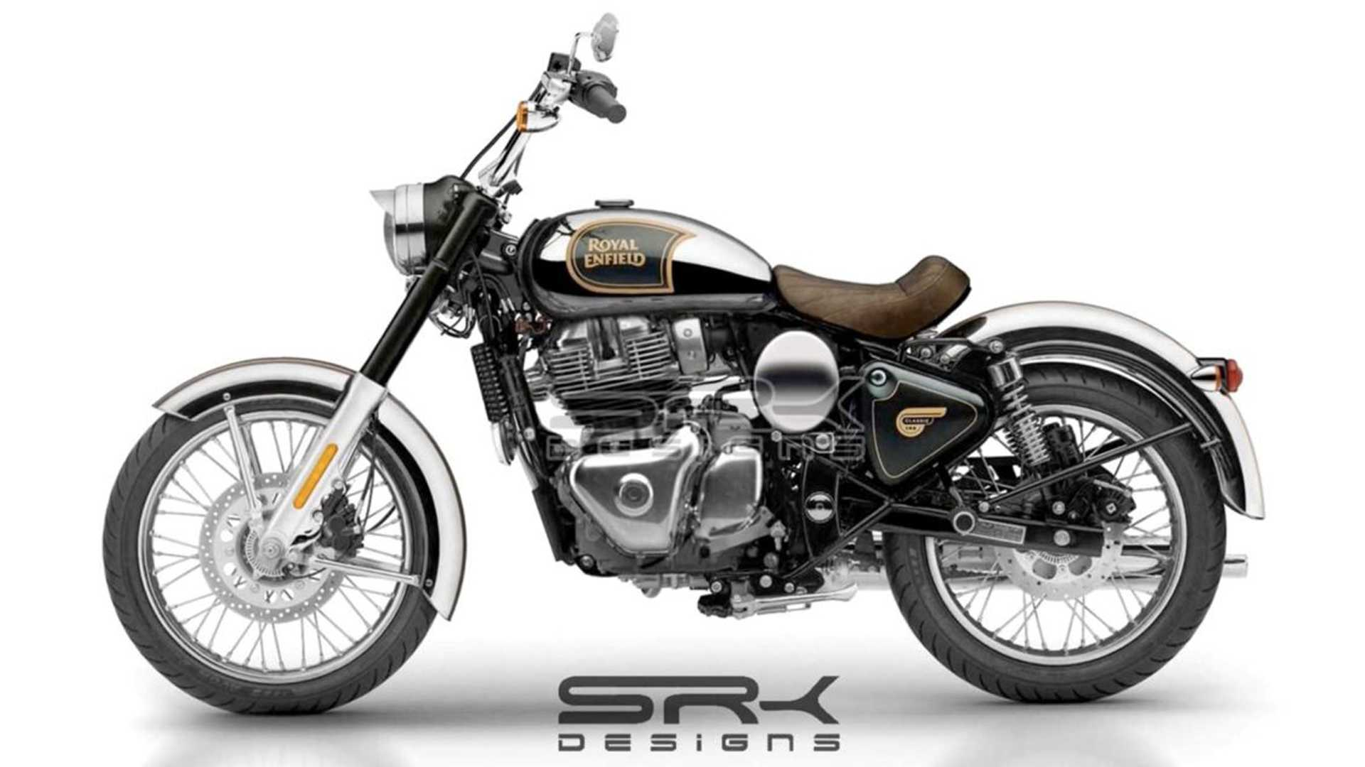 This Royal Enfield Classic 650 Is Inspired By The KX Concept And We Wants It