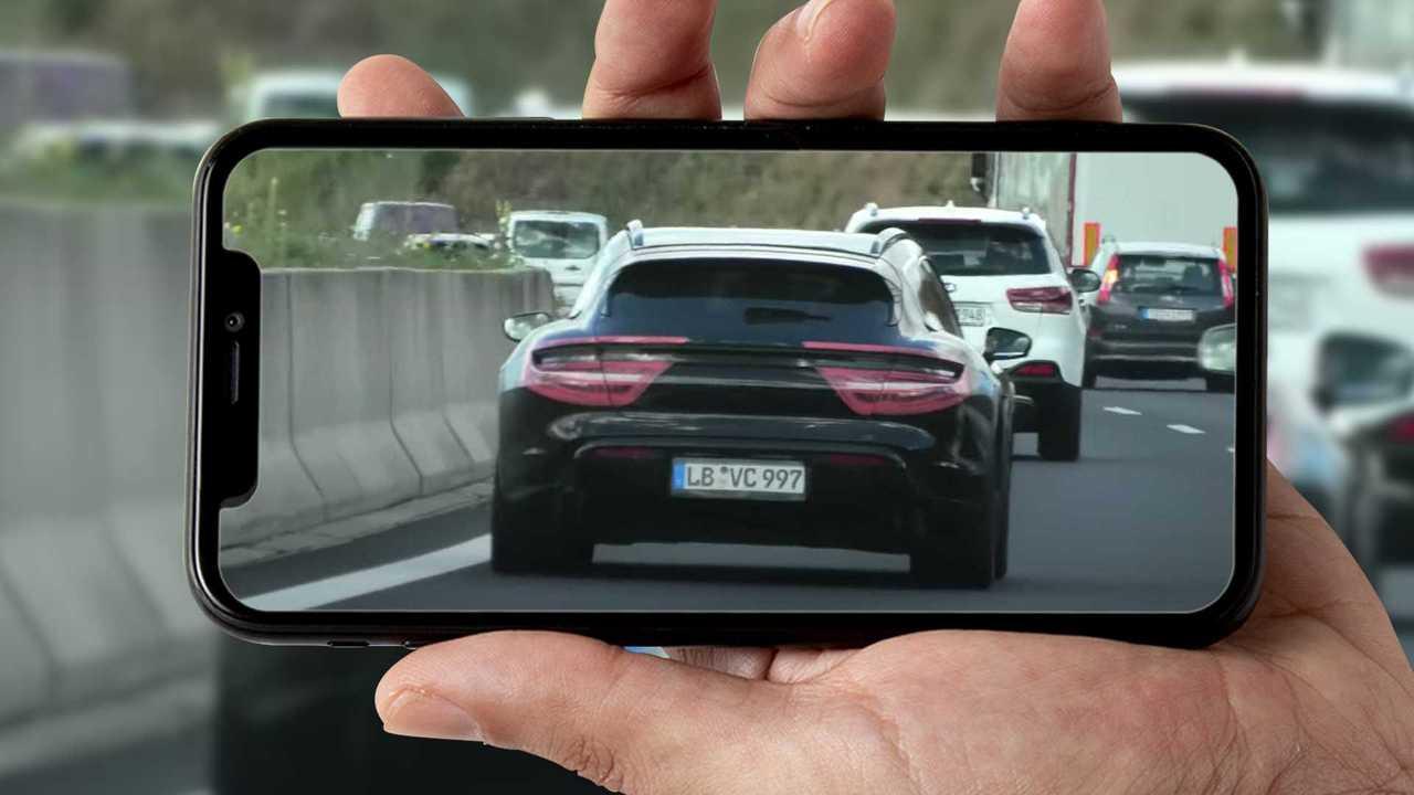 Foto e video spia Porsche Taycan Cross Turismo