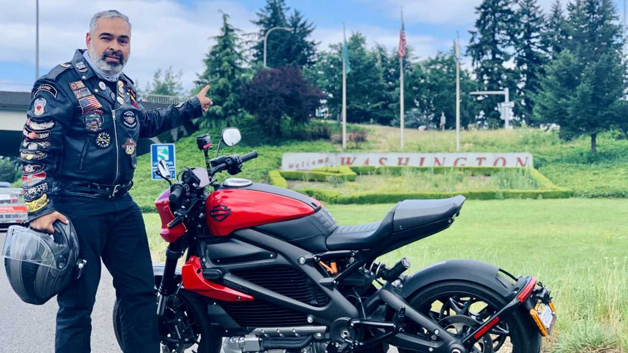 Harley-Davidson LiveWire touring