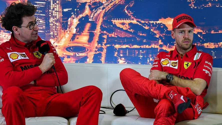 """F1, Binotto conferma: """"Ferrari non ha voluto rinnovare con Vettel"""""""