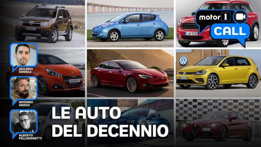 Le 10 auto (+1) più importanti del decennio 2010-2019.
