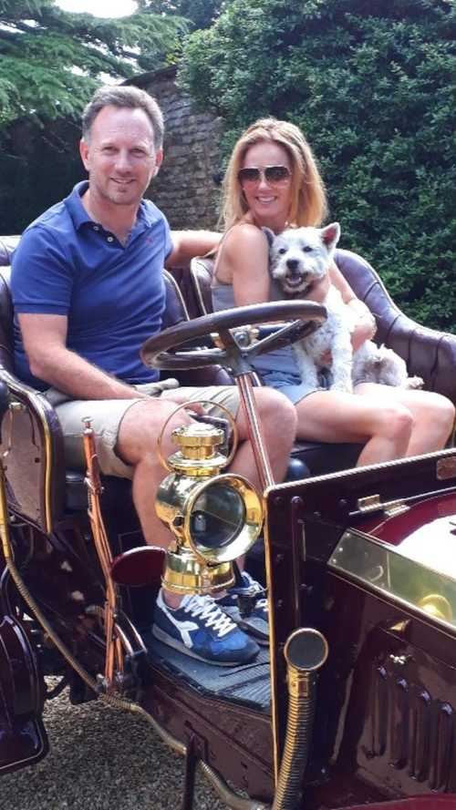 Christian Horner and Geri Halliwell to drive 114-year-old Panhard!