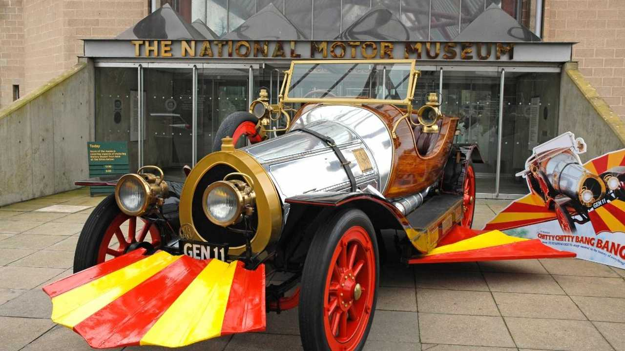 Chitty Chitty Bang Bang film cars to star in new Beaulieu exhibit
