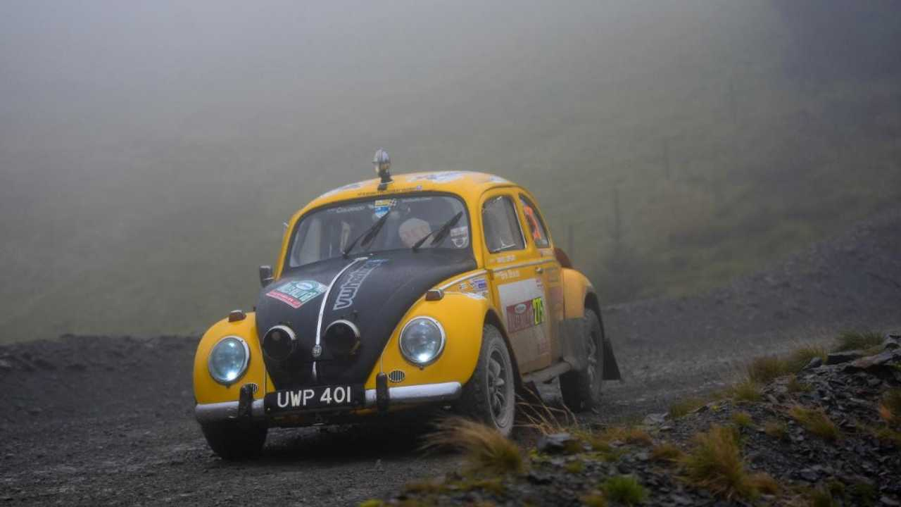 1958 VW Beetle to compete against WRC titans on Wales Rally GB
