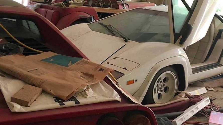 Grandson discovers long-lost Lamborghini in nan's garage