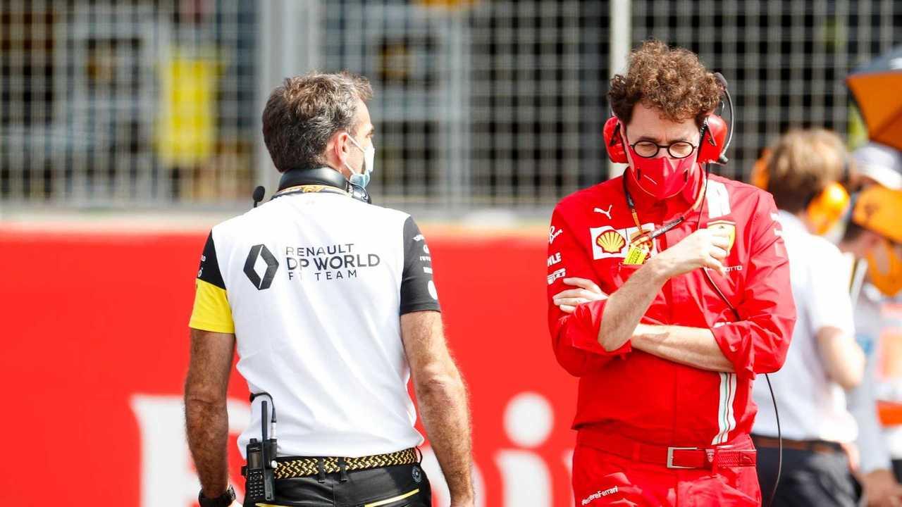 Problemas de Ferrari en F1