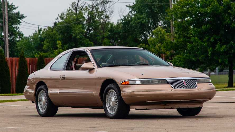 This 1993 Lincoln Mark VIII Was Built By Ford To Go 183 MPH