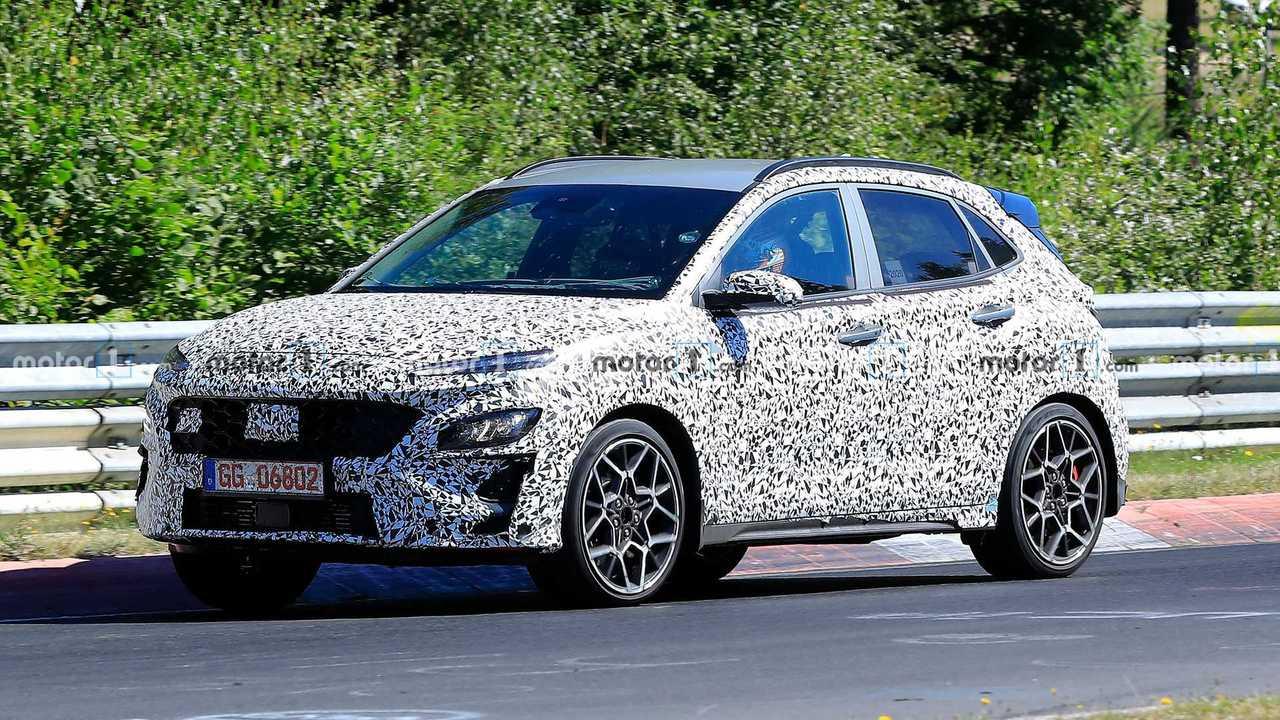 Hyundai Kona N Yeni Casus Fotoğraflar