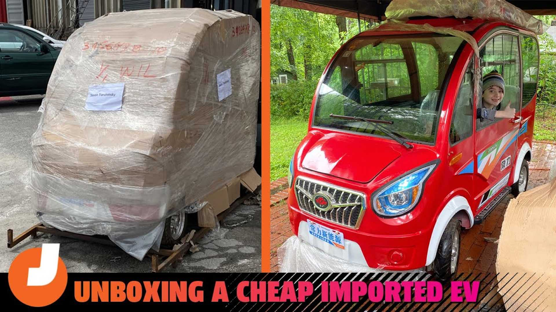 World's Cheapest New Car Is Electric And It Comes In A Box From China