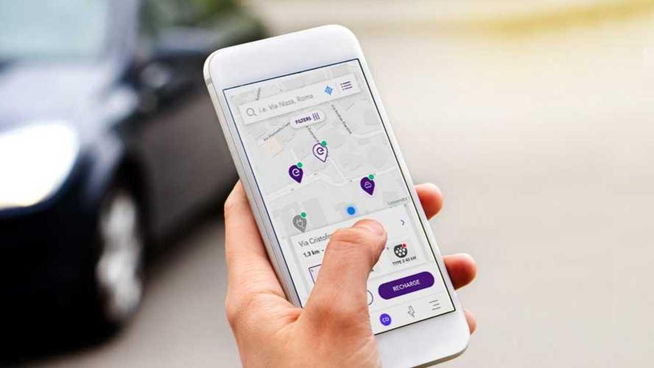 Enel X charging app