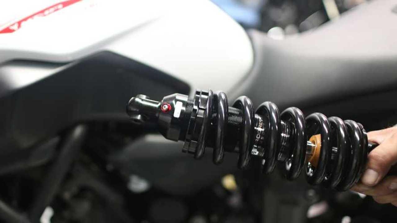 Progressive Yamaha MT07