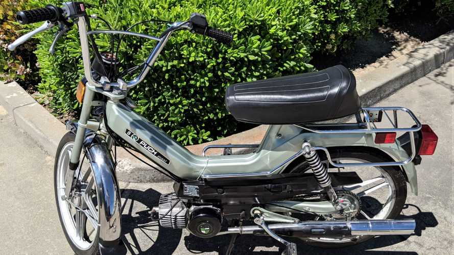 This Puch Moped Has Affordable Old-School Euro Style