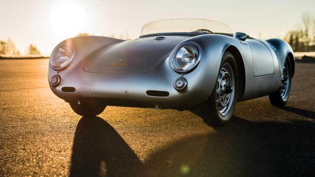 Porsche 550 Spyder with Le Mans history leads Paris auction
