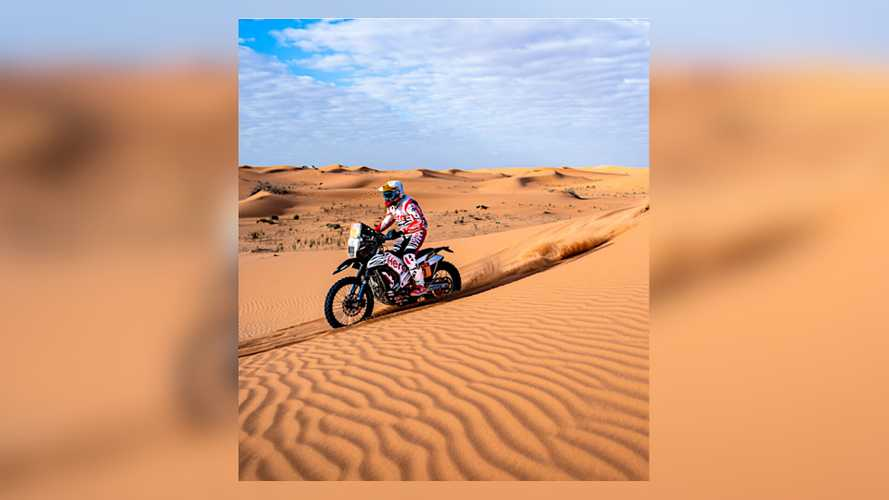 Could Hero MotoCorp's 300cc Adventure Bike Be A Tiny Rally Weapon?