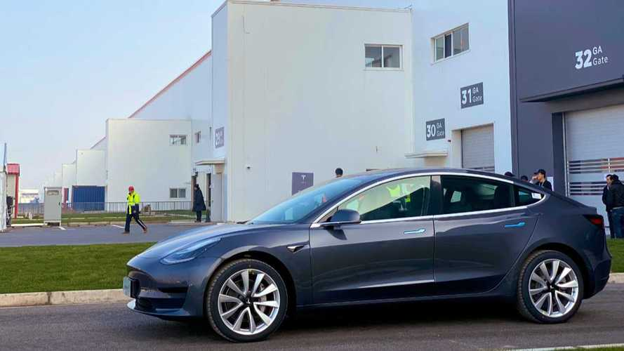 Tesla China Refutes Model 3 Parts Shortage