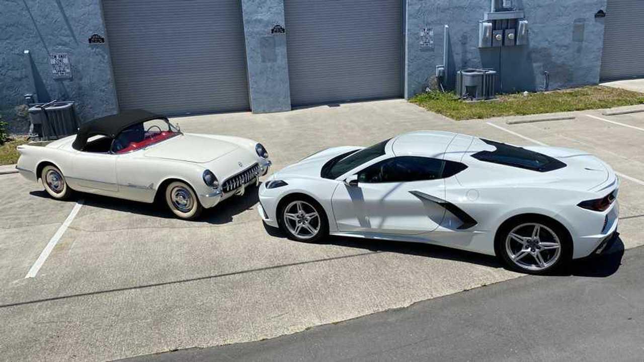 VIN Matched Chevrolet Corvettes