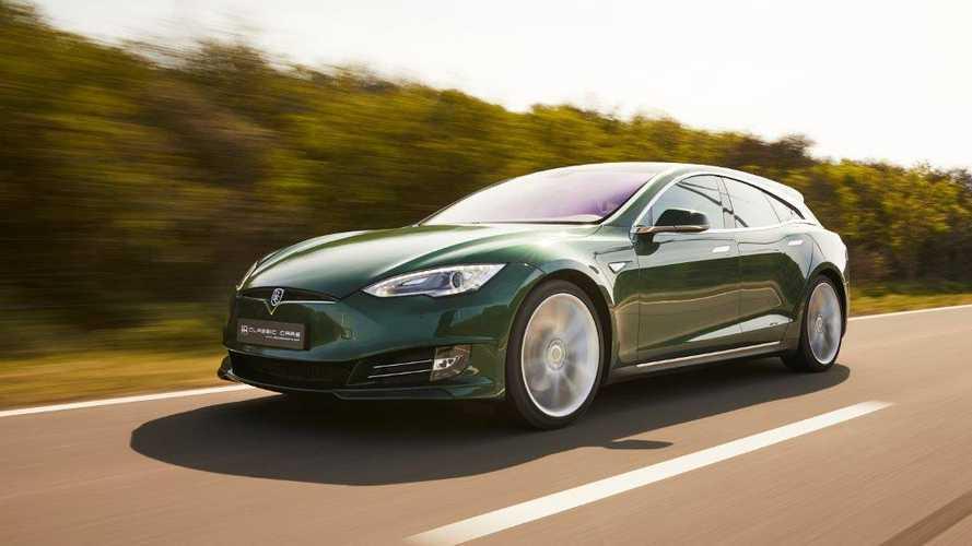 Eladó az egyetlen példányban létező Tesla Model S Shooting Brake