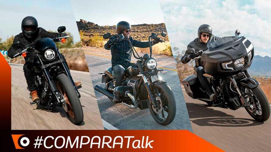 Comparativa Maxi-Custom 2020: BMW R18 vs Harley-Davidson e Indian