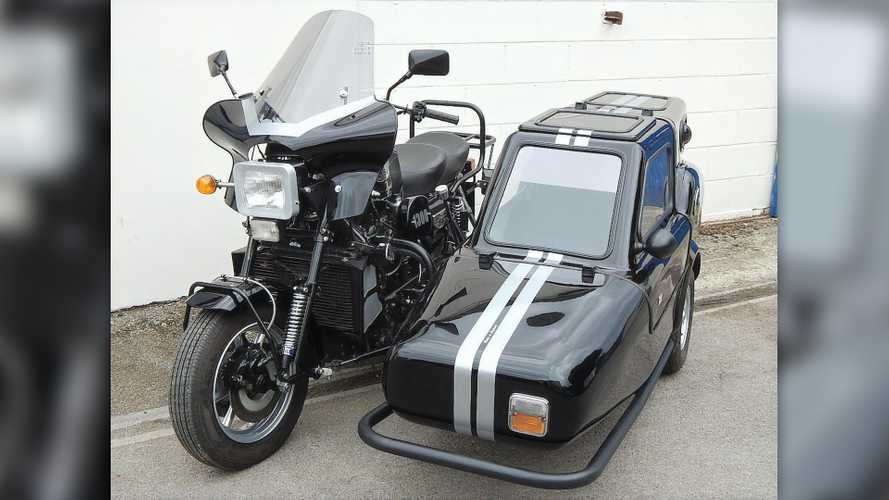 Cycleweird: Austin Mini-Powered Austel Motorcycles