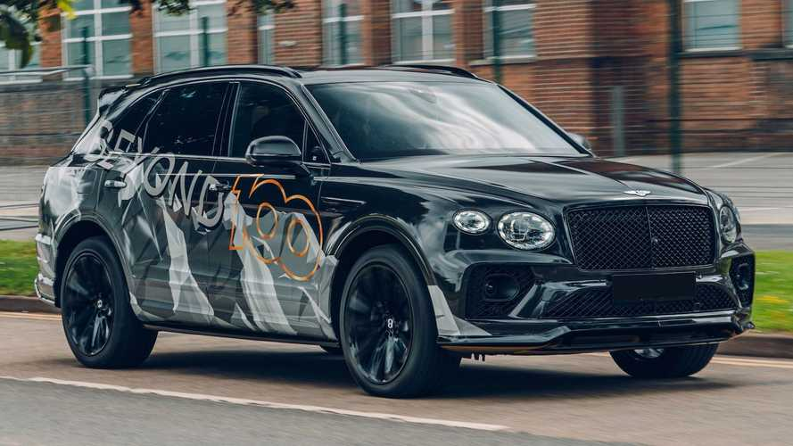 2021 Bentley Bentayga Speed Teaser