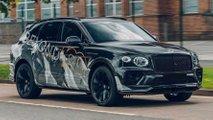 2021 Bentley Bentayga Speed Teaser