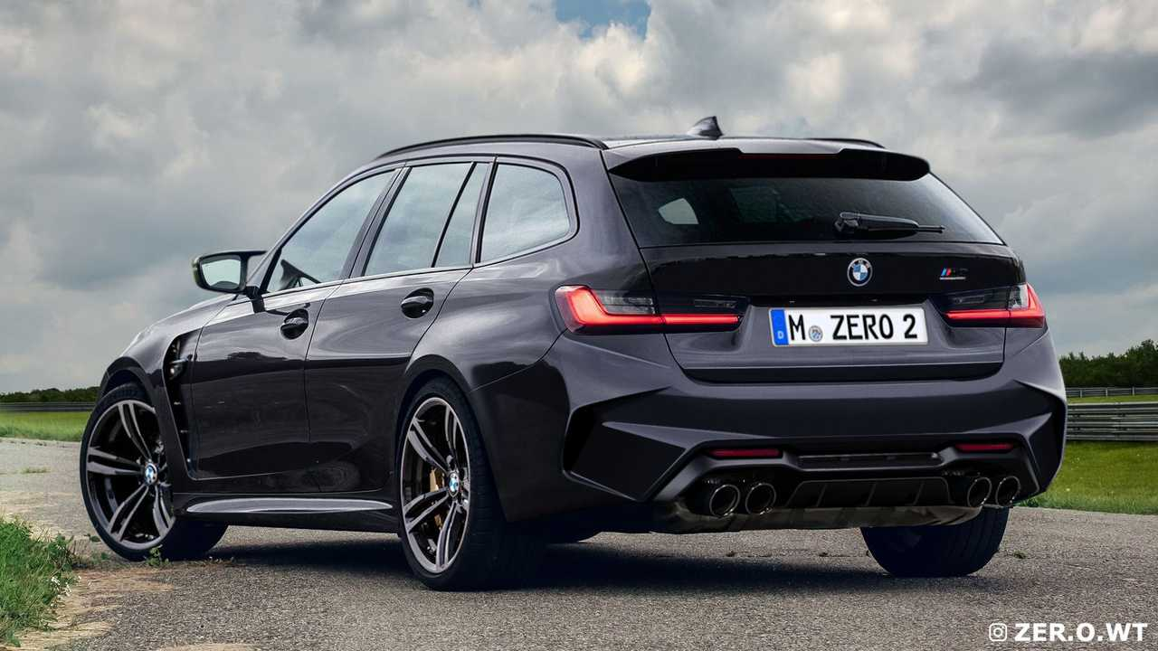 Седан и универсал BMW M3 - неофициальные рендеры