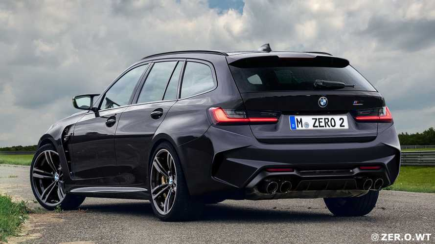 BMW M3 Touring und M3 (Renderings)