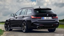 BMW M3 Touring ve Sedan Render