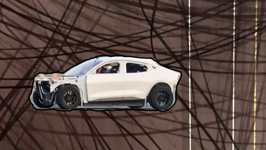 Ford Performance Teases Monster Mustang Mach-E