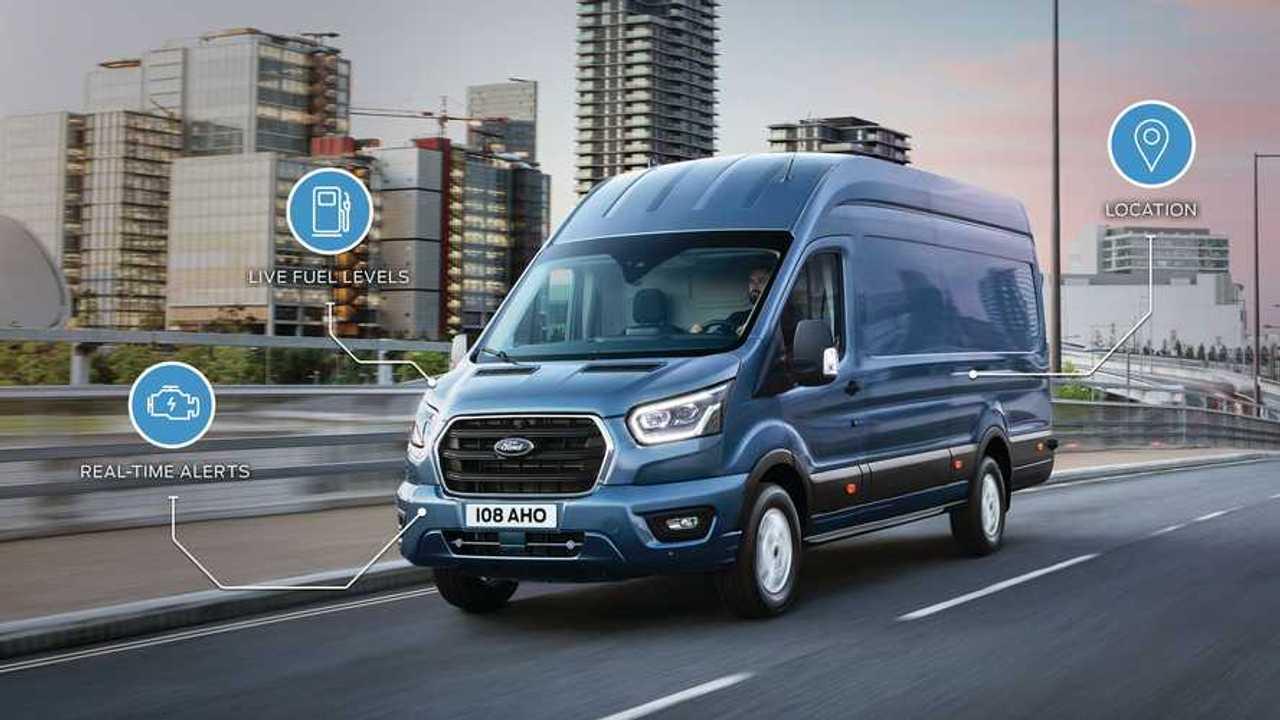 Ford, più connettività sui commerciali