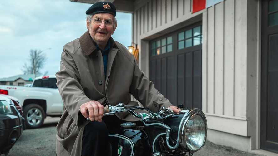 Reuniting A Granddad With His Beloved DKW Motorcycle Is Priceless