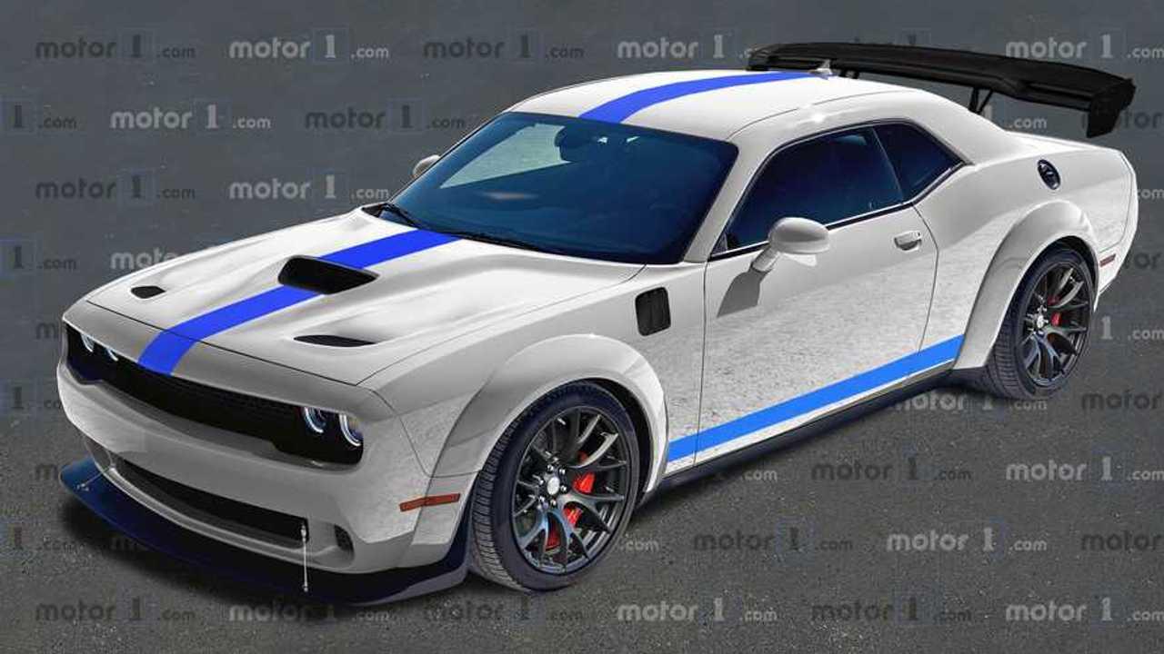 Dodge Challenger ACR 2021, render