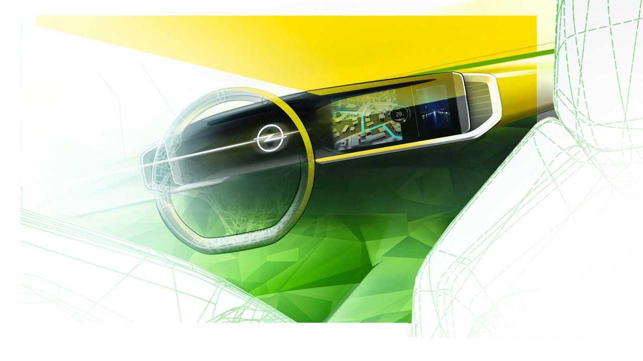 Новый Opel Mokka кокпит Pure Panel