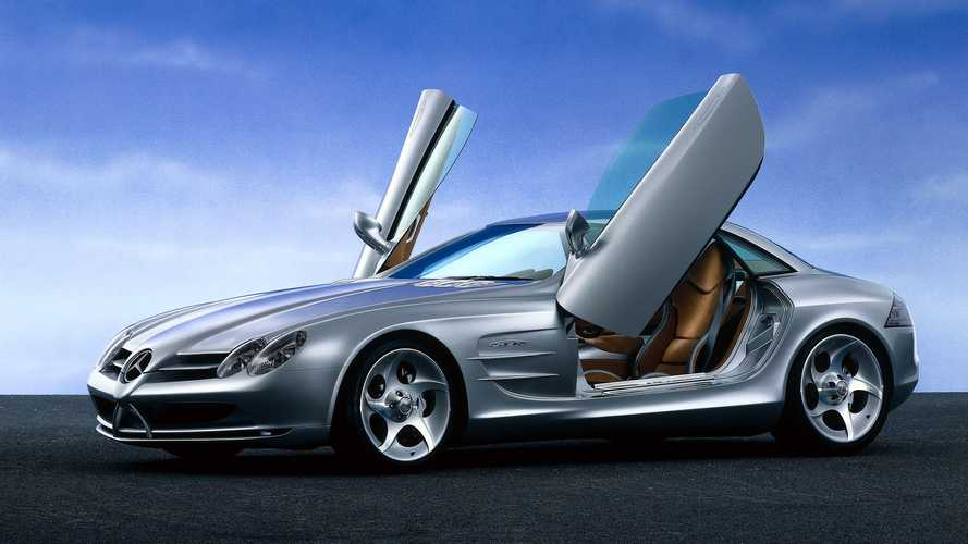 Mercedes Vision SLR McLaren, il concept quasi pronto alla produzione