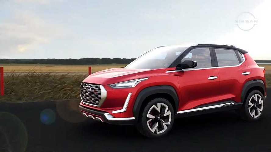 Nissan Magnite será lançado no Brasil em março de 2022; March para já em setembro