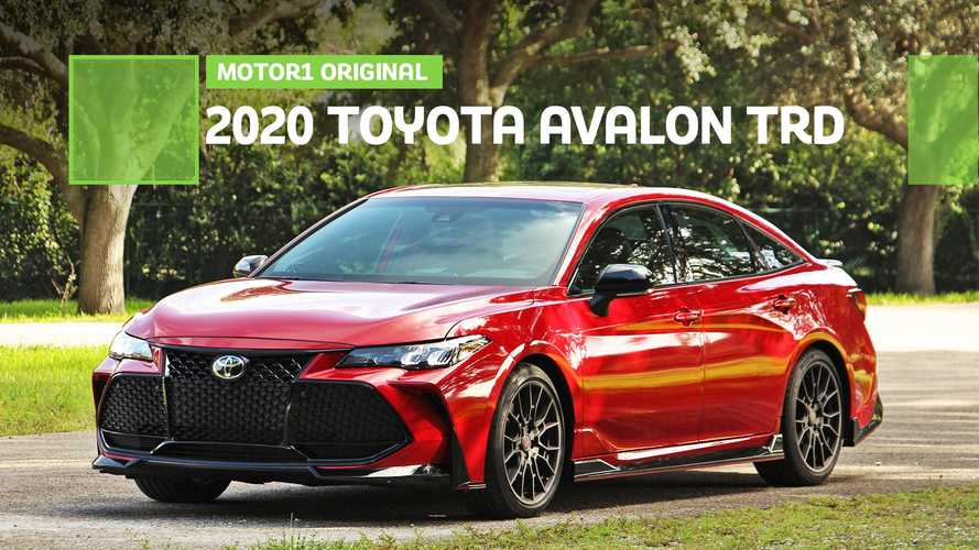 Is The Toyota Avalon TRD A Real Sports Sedan?