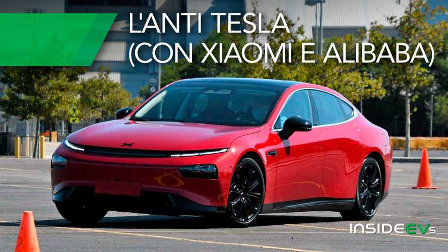 Xpeng P7, la prova esclusiva dell'anti Tesla cinese volata a Wall Street