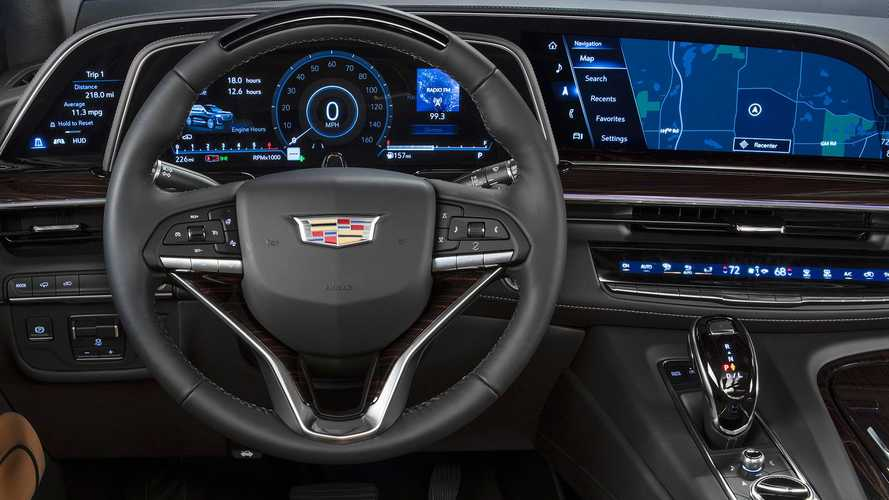 Cadillac Lyriq Infotainment Display